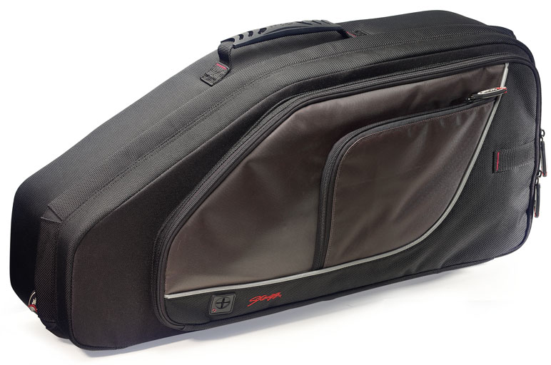 Stagg Deluxe Alto Sax Soft Hard Case (SCAS)