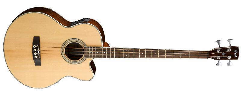 Cort Acoustic Bass Series SJB6FX Solid Spruce Top / Rosewood Bac (SJB6FX)