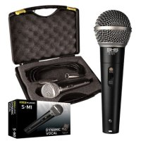 SHS S-M1 Dynamic Lo-Z Microphone w/ Case and Cable (SM1)
