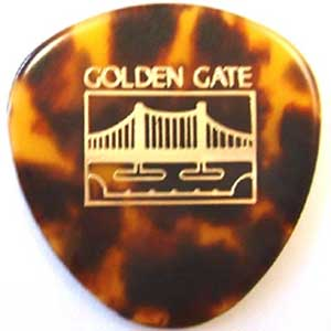 Golden Gate Mandolin Tortoise Pick 12 Pack (SMP12)
