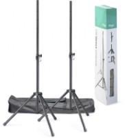 Stagg Q Series Steel Speaker Stand Pair With Folding Legs (SPSQ10SET)