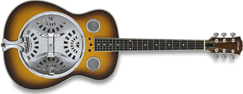 Stagg Roundneck Resonator Guitar (SR607SB)