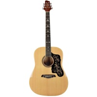 Sawtooth ST-AD Series Beginner Acoustic Guitar - Natural W/ Custom Pickguard (STADND)