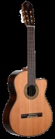 Teton Solid Cedar Top Acoustic Electric Classical Guitar (STC155SCENT)
