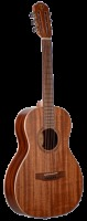 Teton Solid Mahogany Top Parlor Acoustic Guitar - Natural (STP103NT)