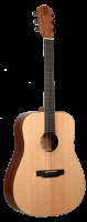 Teton Solid Spruce Top Mahogany Back And Side Dreadnought Acoustic Guitar (STS10NT)