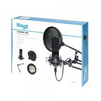 Stagg SUM45 Cardioid USB Microphone Set (SUM45SET)