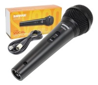 Shure SV200W Cardioid Dynamic Vocal Microphone w/ XLR Cable (SV200W)