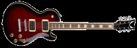 Dean Thoroughbred X Flame Maple Electric Guitar - Trans Red (TBXFMTRD)