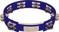 "Rhythm Tech True Color 10"" Double Jingle Tambourine - Blue (TC4040)"