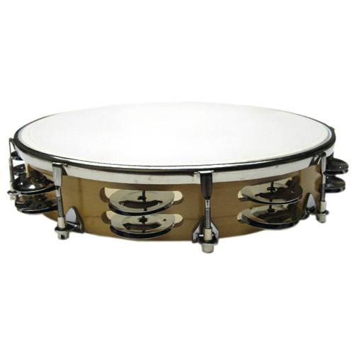 "Value Series Tunable 10"" Tambourine with Double Row Jingles (TP1016)"