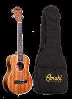 Amahi Tenor Mahogany With Binding Ukulele w/ Deluxe Bag (UK217T)