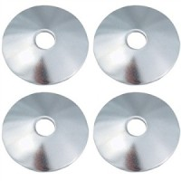 Standard Curved Metal Hi Hat Cymbal Washers 4 Pack (UPHW4)